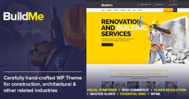 BuildMe 4.6 – Construction & Architectural WP Theme