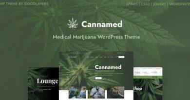 Cannamed 1.0.4 – Cannabis & Marijuana WordPress Theme