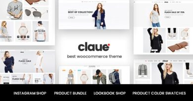 Claue 2.1.0 – Clean, Minimal Elementor WooCommerce Theme