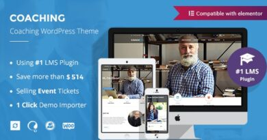 Colead 3.4.0 Nulled – Coaching & Online Courses WordPress Theme
