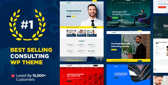 Consulting 5.2.5 Nulled – Business, Finance WordPress Theme