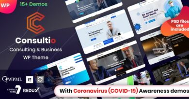 Consultio 1.2.5 Nulled – Corporate Consulting WordPress Theme