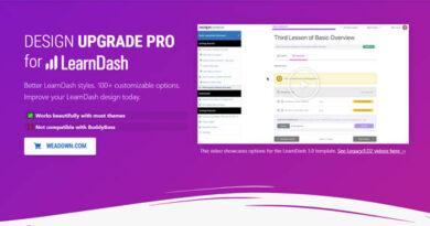 Design Upgrade Pro for LearnDash 2.15.1