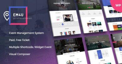 EM4U 1.4.2 – Events WordPress Theme for Booking Tickets