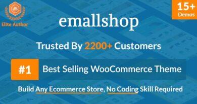 EmallShop 2.2.18 Nulled – Responsive Multipurpose WooCommerce Theme