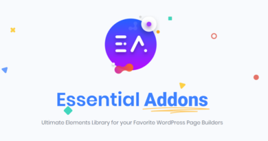 Essential Addons for Elementor Pro 4.3.2 Nulled