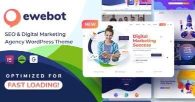 Ewebot 2.3.1 Nulled – SEO Marketing & Digital Agency