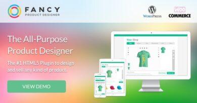 Fancy Product Designer 4.6.4 + Plus Add-On 1.3.2