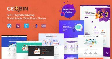 GeoBin 2.6 – Digital Marketing Agency, SEO WordPress Theme
