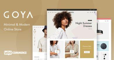 Goya 1.0.5 – Modern WooCommerce Theme