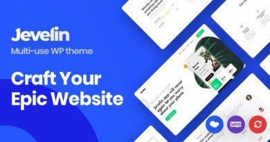 Jevelin 5.0 – Multi-Purpose Responsive WordPress AMP Theme