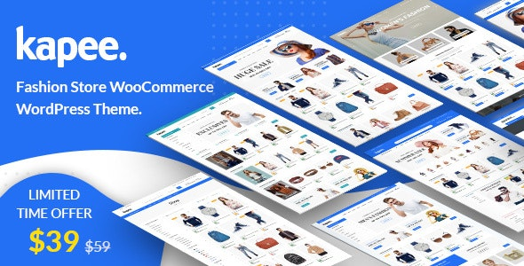 Kapee 1.3.9 Nulled – Fashion Store WooCommerce Theme