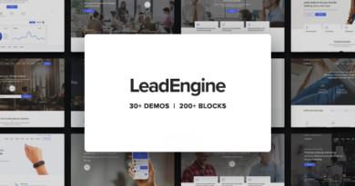 LeadEngine 2.8 Nulled – Multi-Purpose WordPress Theme