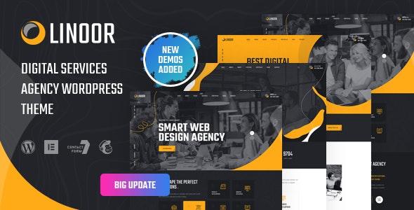 Linoor 1.2.1 – Digital Agency Services WordPress Theme