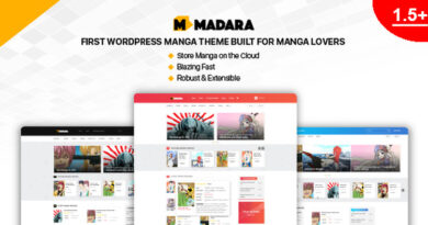 Madara 1.6.5.3 – WordPress Theme for Manga
