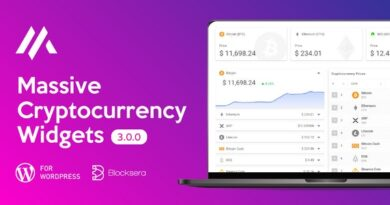 Massive Cryptocurrency Widgets – Crypto Plugin 3.1.8 Nulled