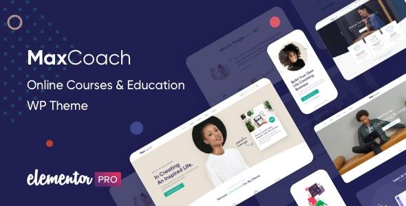 MaxCoach 2.0.4 – Online Courses & Education WP Theme