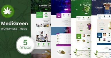 MediGreen 1.1.1 – Cannabis & Medical Marijuana Shop