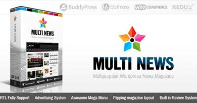 Multinews 2.7.2.2 – Magazine WordPress Theme