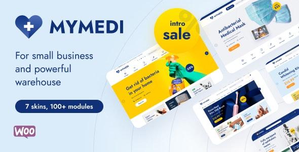 MyMedi 1.1.3 – Responsive WooCommerce WordPress Theme