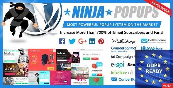 Ninja Popups 4.7.3 – Popup Plugin for WordPress