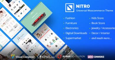 Nitro 1.7.9 Nulled – Universal WooCommerce Theme from Ecommerce