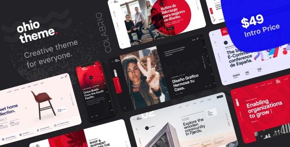 Ohio 2.3.3 Nulled – Creative Portfolio & Agency WordPress Theme