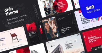 Ohio 2.3.4 Nulled – Creative Portfolio & Agency WordPress Theme