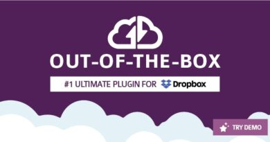 Out-of-the-Box 1.18.2 Nulled – Dropbox plugin for WordPress