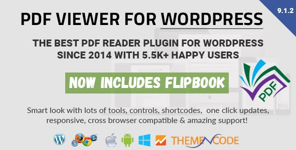 PDF viewer for WordPress 9.1.1