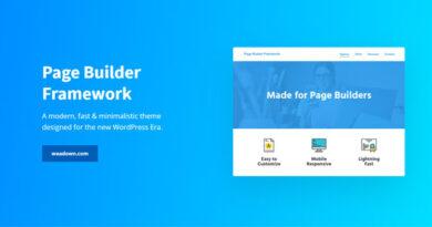 Page Builder Framework Premium Addon 2.6.6 Nulled