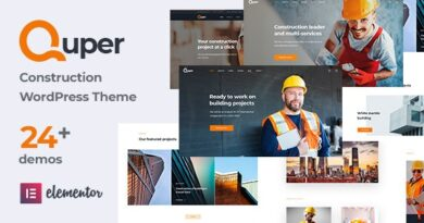Quper 1.5 – Construction and Architecture WordPress Theme
