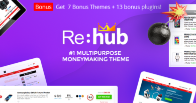 Rehub 14.8.1 Nulled – Affiliate Marketing, Multi Vendor Store, Community Theme
