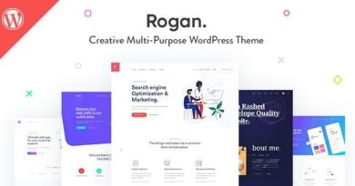 Rogan 1.7.3 – Creative Multipurpose WordPress Theme for Agency, Saas, Portfolio