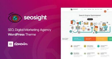Seosight 5.1.1 – Digital Marketing Agency WordPress Theme