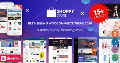 ShoppyStore 3.6.6 Nulled – Multipurpose Responsive WooCommerce WordPress