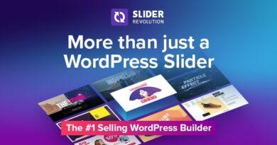Slider Revolution 6.4.0 Nulled (Addons + Templates) – Responsive WordPress Plugin