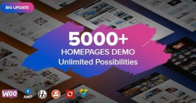 Soledad 7.8.0 Nulled – Multi-Concept Blog Magazine AMP WordPress Theme