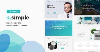 The Simple 2.5.9 – Business WordPress Theme