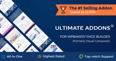 Ultimate Addons for WPBakery Page Builder 3.19.9 Nulled