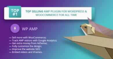 WP AMP 9.3.17 Nulled – Accelerated Mobile Pages for WordPress
