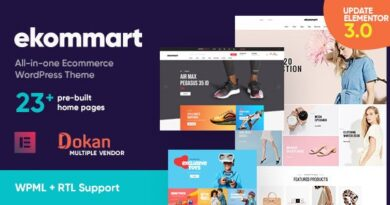 ekommart 3.4.0 – All-in-one eCommerce WordPress Theme